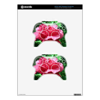 Red Rose Xbox 360 Controller Decal