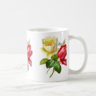 Red Rose Yellow Rose Coffee Mug