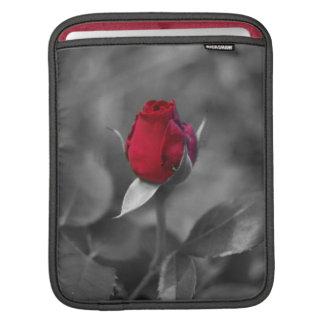 Red Rosebud Sleeve For iPads