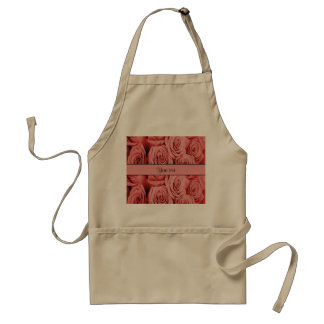 Red Roses Adult Apron