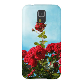 Red roses against blue sky galaxy s5 case