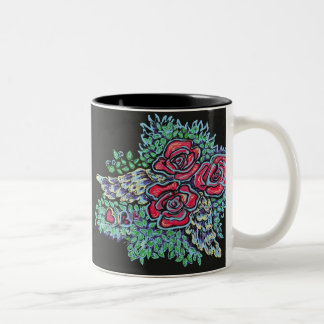 Red Roses and Angel Wings, mugs
