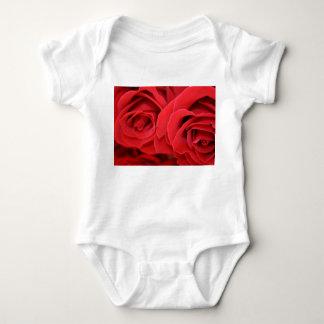 RED ROSES BABY BODYSUIT