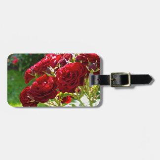 Red Roses Bag Tag