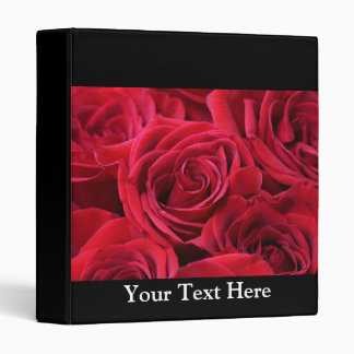 Red Roses Bouquet Binder