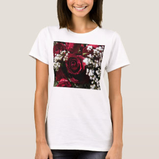 Red roses bouquet close up T-Shirt