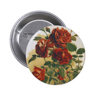 Red Roses Pin