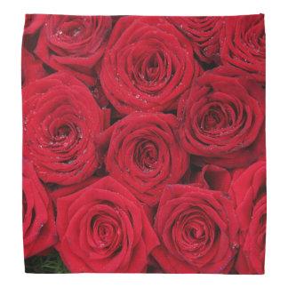 Red roses by Therosegarden Bandana