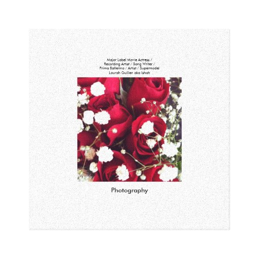Red Roses Gallery Wrap Canvas