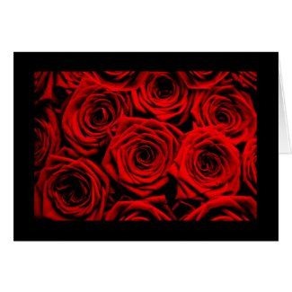 Red Roses Cards