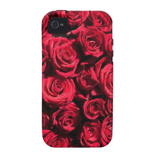 Red roses Case-Mate iPhone 4 cover
