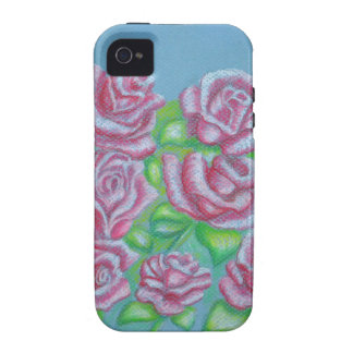 red roses iPhone 4 cases
