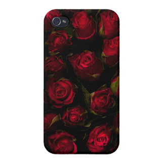 Red Roses Cases For iPhone 4