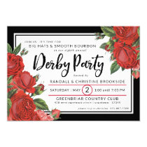 Red Roses | Derby Party Classic Invitation