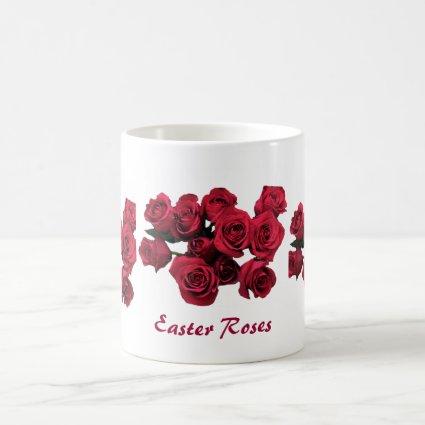 Red Roses Easter Mug