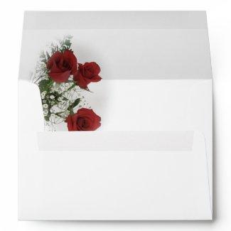 Red Roses envelope