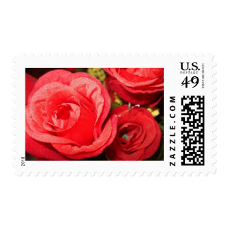 Red Roses - Floral Art Photography Postage