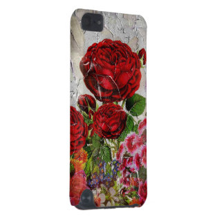 Red Roses Flower Garden iPod Touch (5th Generation) Case