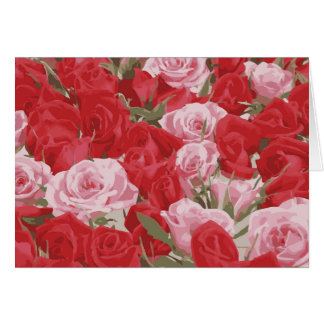 Red Roses for Thalia Card
