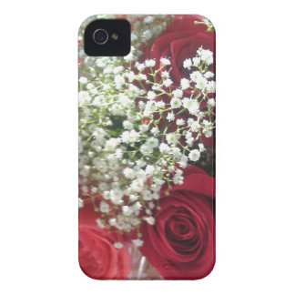 red roses happy valentine day iPhone 4 Case-Mate case