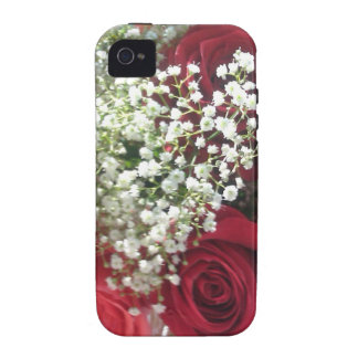 red roses happy valentine day iPhone 4 cover