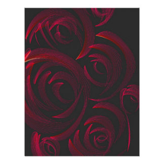 Red Roses in the Dark Letterhead