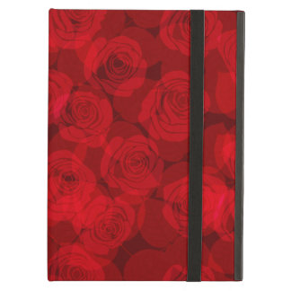 Red roses iPad air cases