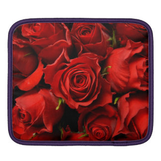 red roses iPad sleeves