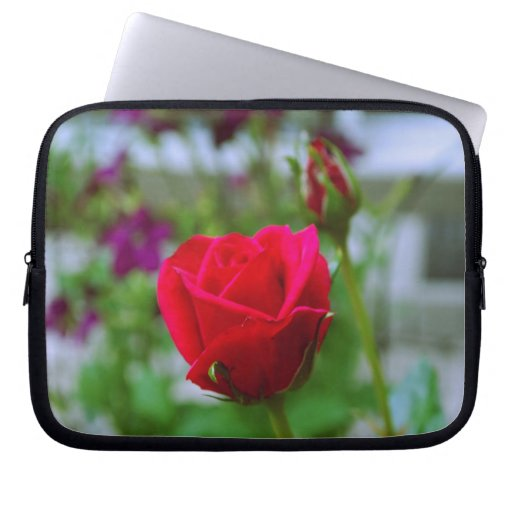 Red Roses Laptop Computer Sleeve