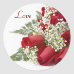 Red Roses Love Stickers