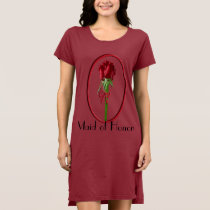Red Roses Maid of Honor T-shirt