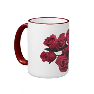 Red Roses Mug mug