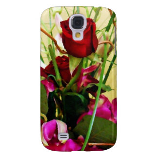 Red Roses & Orchids_ Galaxy S4 Cover