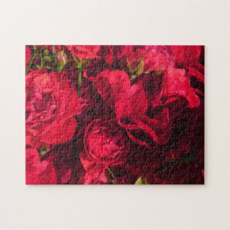 Red Roses Painting Puzzles