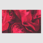 Red Roses Painting Sticker
