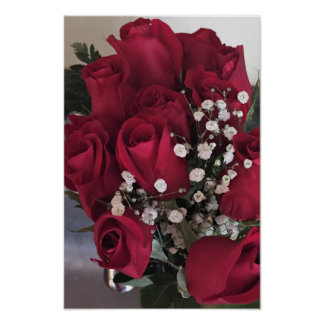Red Roses Photo Poster
