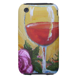 Red Roses & Pink Peonies iPhone 3 Case