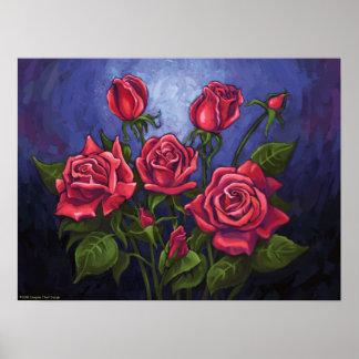 Red Roses Print