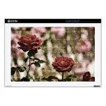 Red Roses Romantic Garden Skin For Laptop