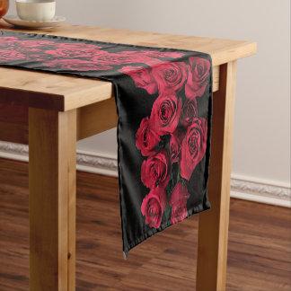 Red Roses Short Table Runner