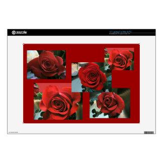 Red Roses Laptop Skin