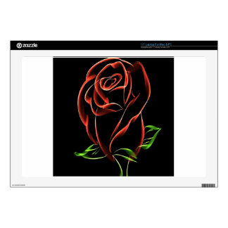 Red Roses Skin For Laptop