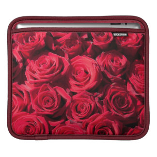 Red roses sleeve for iPads