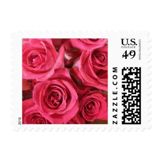 Red Roses Stamps