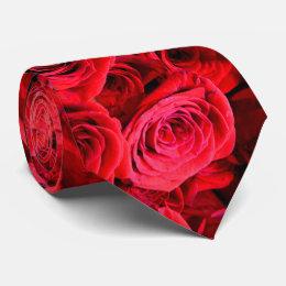 Red Roses Tie