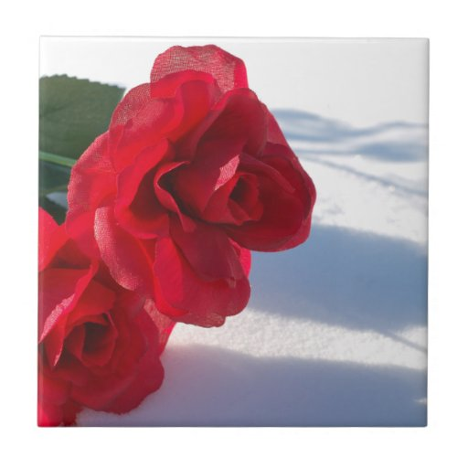 Red Roses Tile
