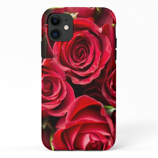 Red Roses Tough iPhone Case