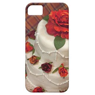 Red roses wedding cake iPhone SE/5/5s case
