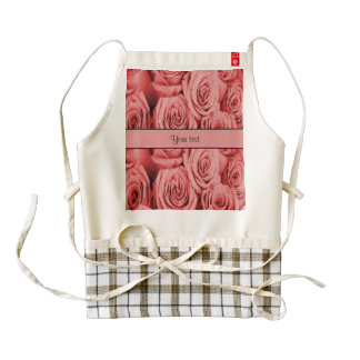 Red Roses Zazzle HEART Apron