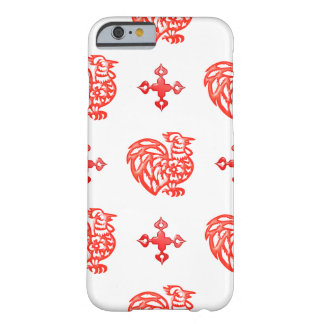 Red Roster Barely There iPhone 6 Case